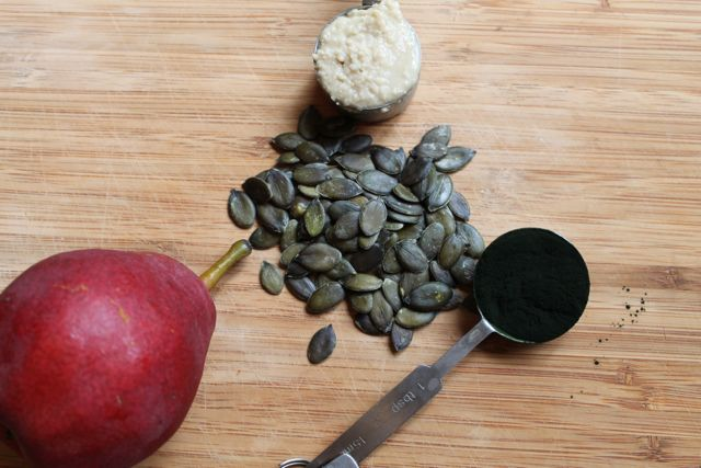 Pear-Pumpkin Smoothie Ingredients