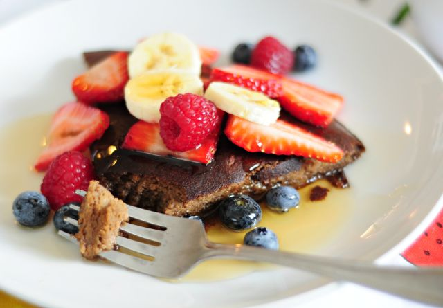 Pancake with Berries 1